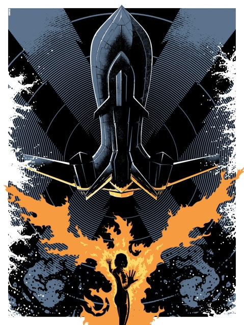 X-Men Blackbird by Matt Ferguson