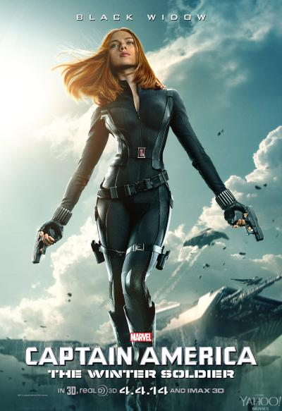 Captain America The Winter Soldier Poster #3