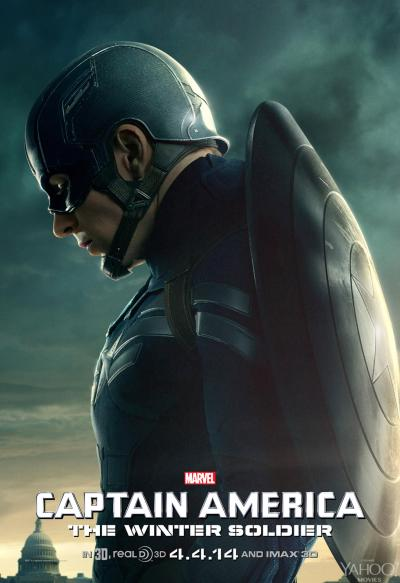 Captain America The Winter Soldier Poster #5