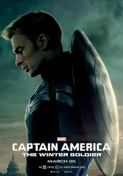 Captain America The Winter Soldier Poster #6