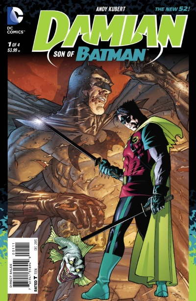 Damian Son of Batman #1