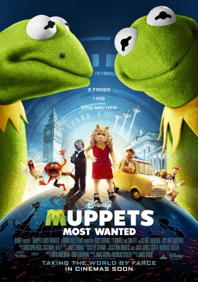 Muppets Most Wanted Poster #2
