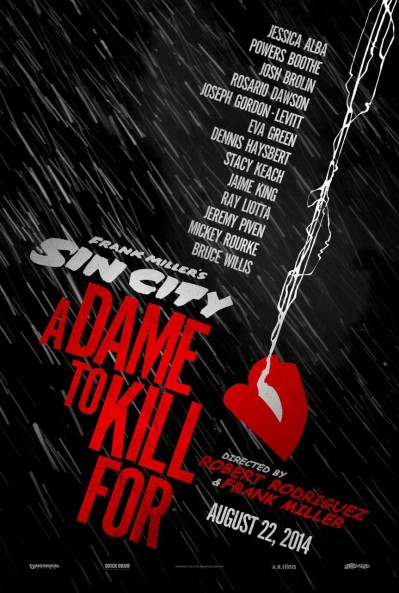 Sin City A Dame to Kill For Poster 2
