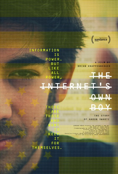The Internet's Own Boy The Story of Aaron Swartz Poster