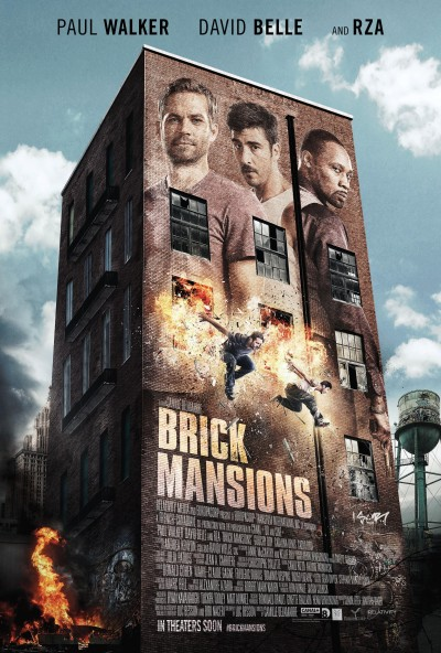 Brick Mansions Poster