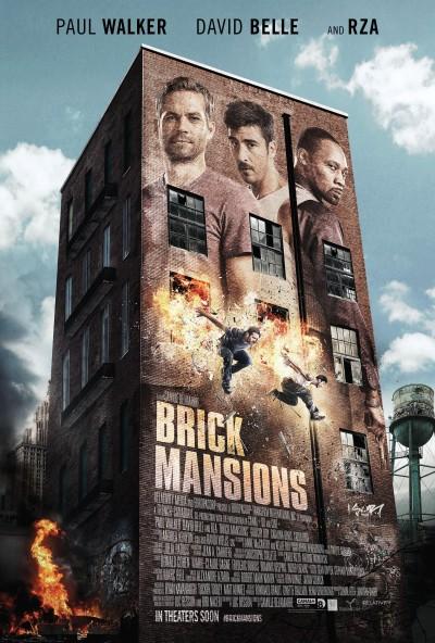 Brick Mansions Poster