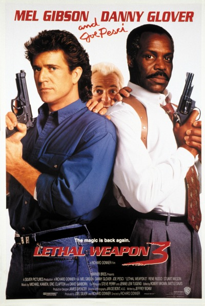 Lethal Weapon 3 Poster