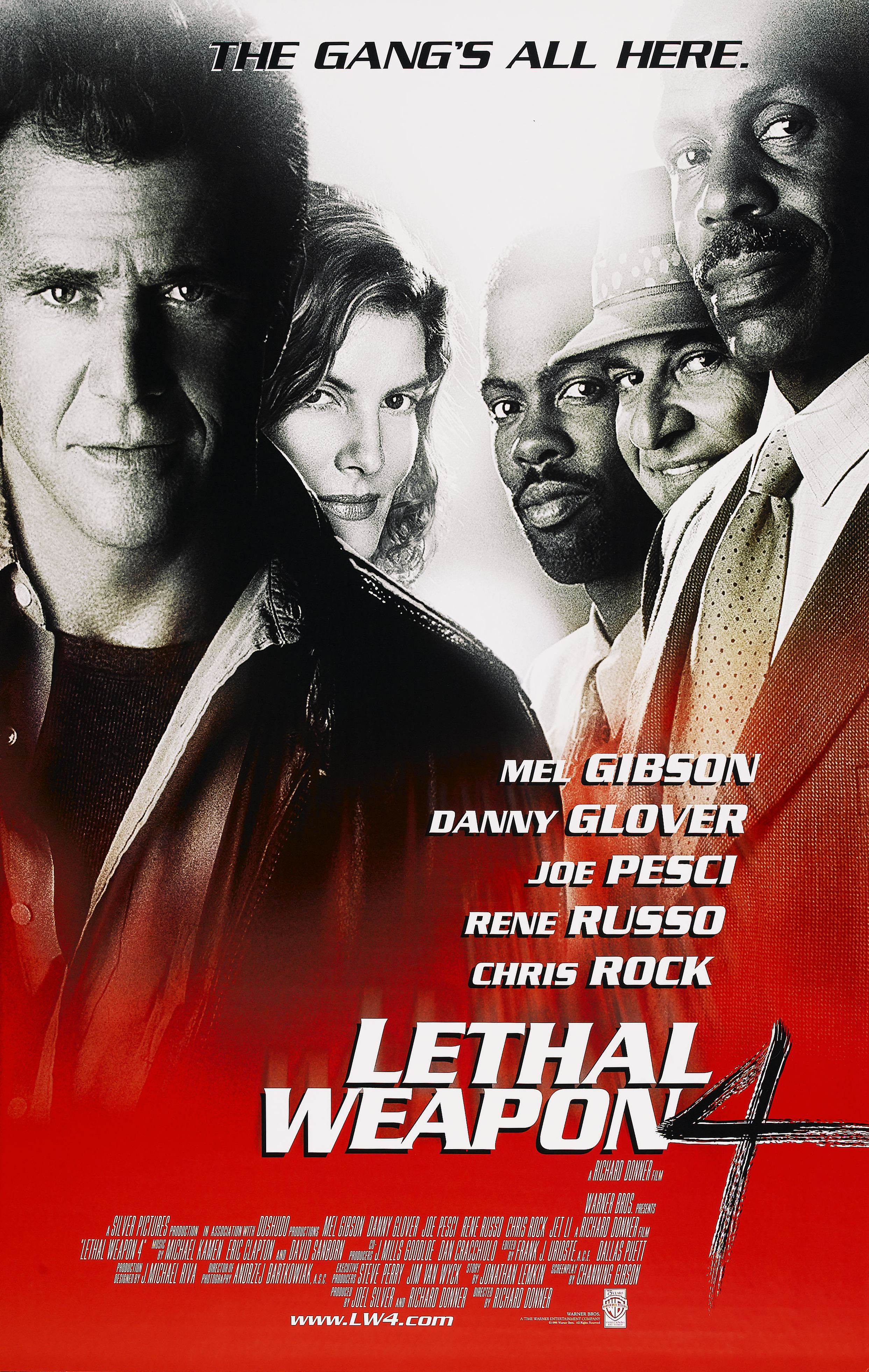 Lethal weapon 4 poster reggie s take com