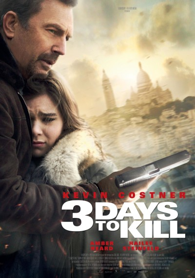 3 Days to Kill Poster #2