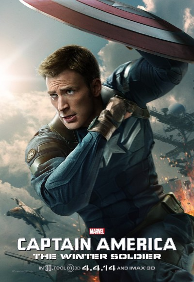 Captain America The Winter Soldier Poster #12