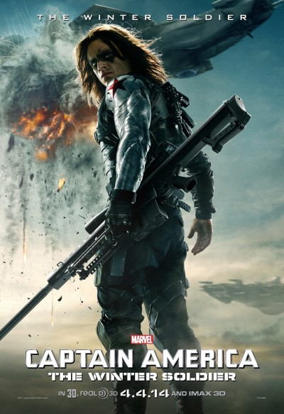 Captain America The Winter Soldier Poster #13