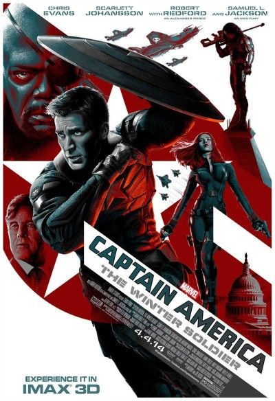 Captain America The Winter Soldier Poster #20