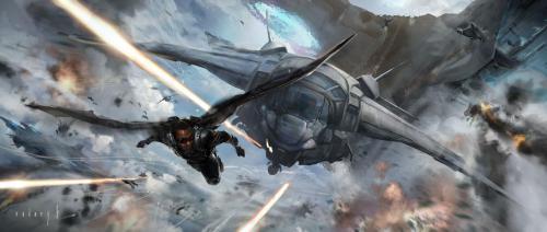Captain America The Winter Solider Concept #2