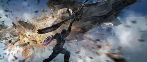Captain America The Winter Solider Concept #7