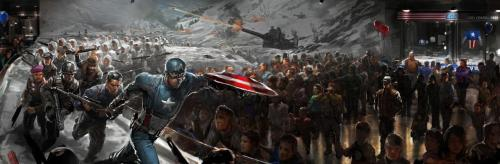 Captain America The Winter Solider Concept #8