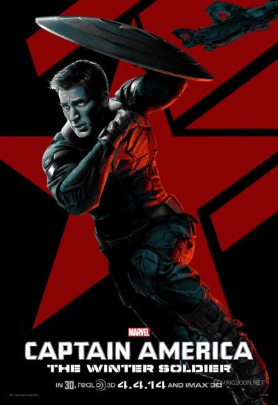 Captain America The Winter Solider Poster #14