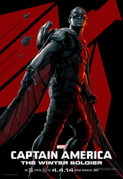 Captain America The Winter Solider Poster #16