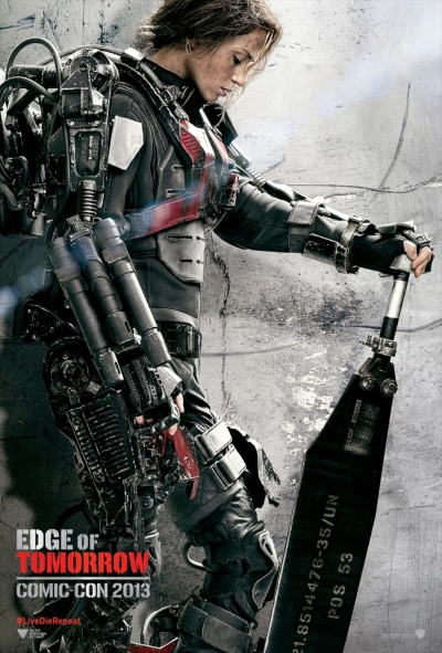 Edge of Tomorrow Comic Con Poster 3
