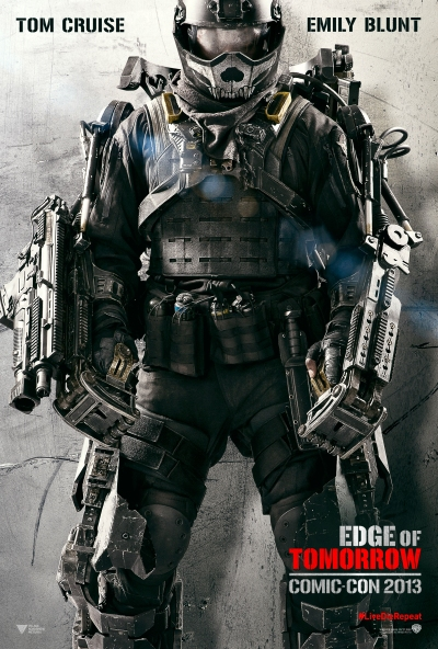 Edge of Tomorrow Comic Con Poster