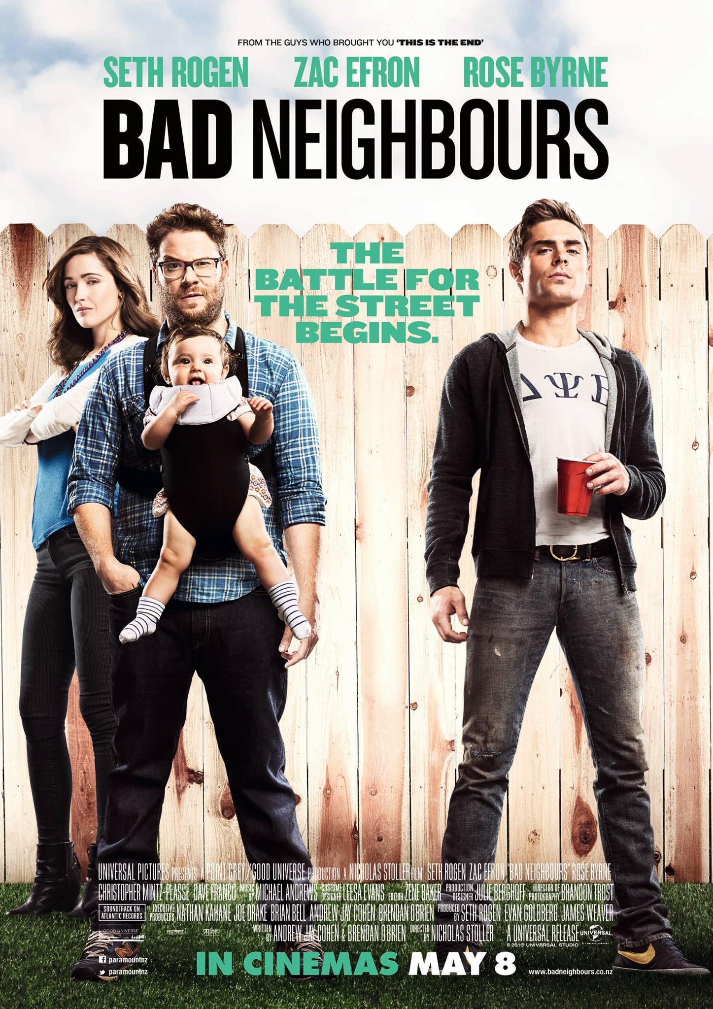 neighbors poster 2reggie 39 s take com