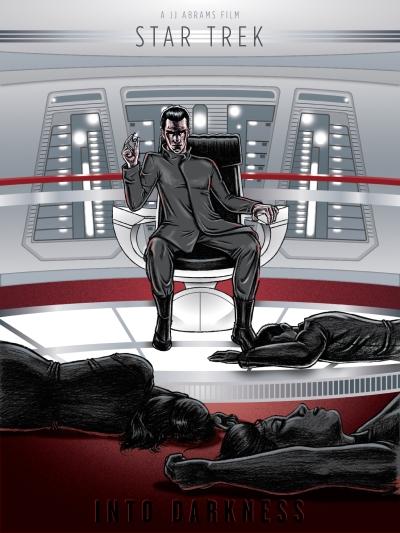 Star Trek Into Darkness Art Poster 1