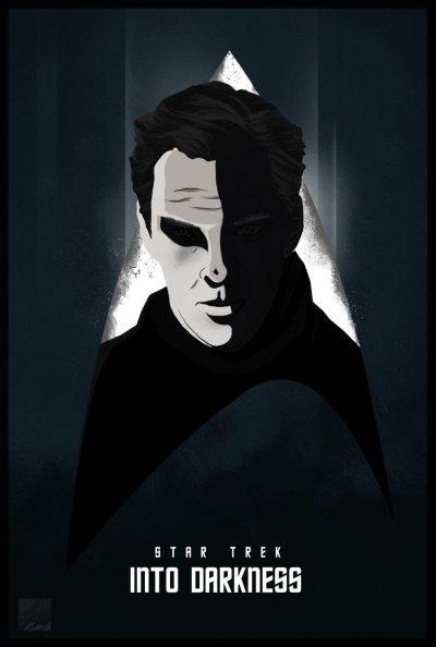 Star Trek Into Darkness Art Poster 2