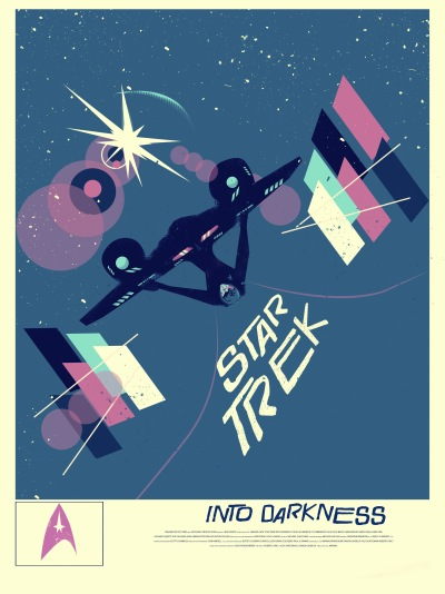 Star Trek Into Darkness Art Poster 3
