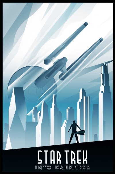 Star Trek Into Darkness Art Poster 4