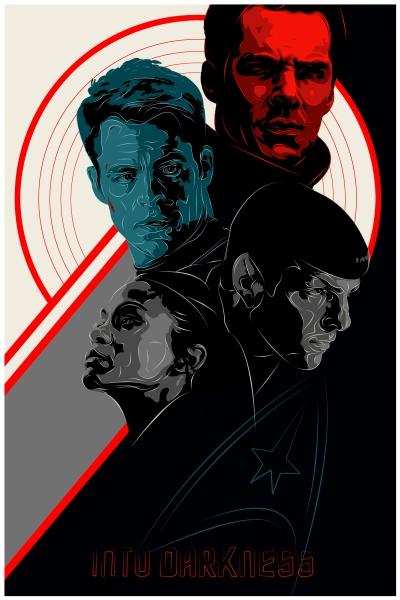 Star Trek Into Darkness Art Poster 5
