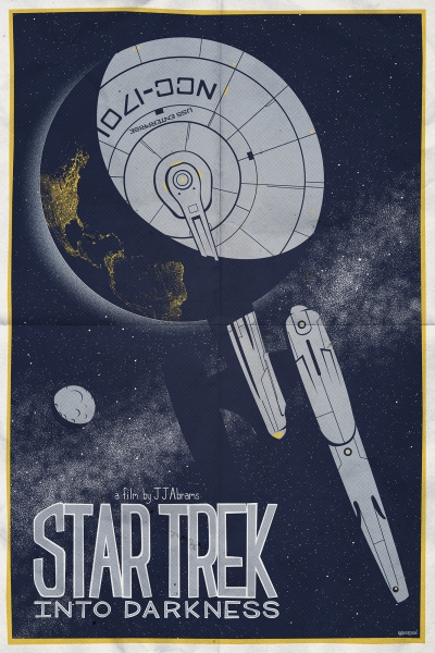 Star Trek Into Darkness Art Poster 6