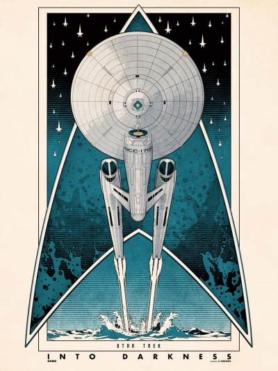 Star Trek Into Darkness Art Poster 7