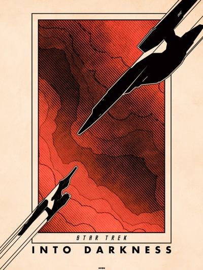 Star Trek Into Darkness Art Poster 8