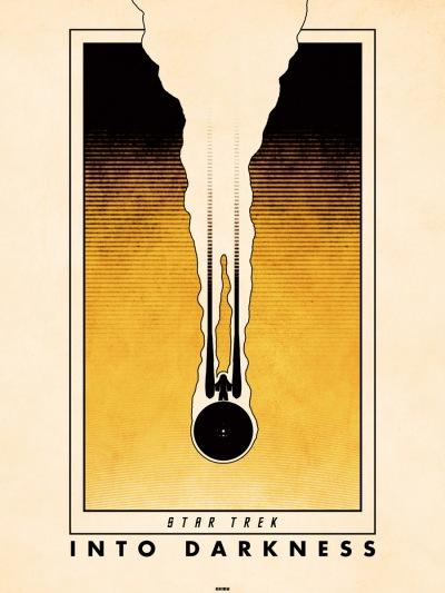 Star Trek Into Darkness Art Poster 9