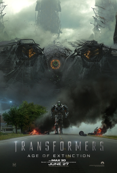 Tranformers Age of Extinction IMAX Poster