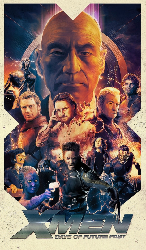 X-Men Days of Future Past Fan Poster