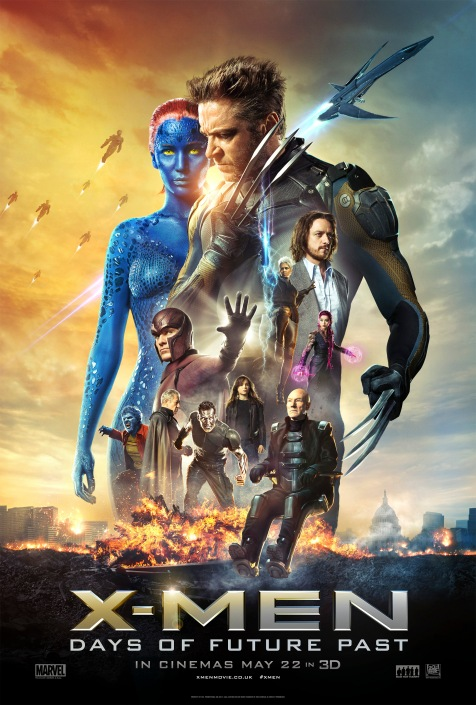 X Men Days of Future Past Poster High Res
