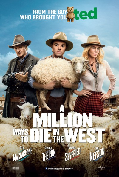 A Million Ways to Die in the West Poster #9