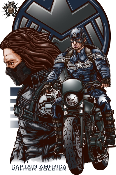 Captain America The Winter Soldier Fan Poster