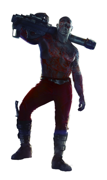 Guardians of the Galaxy's Drax