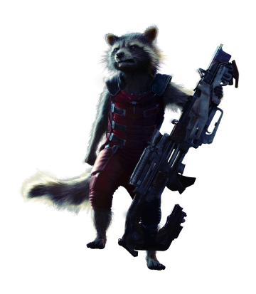 Guardians of the Galaxy's Rocket Raccoon