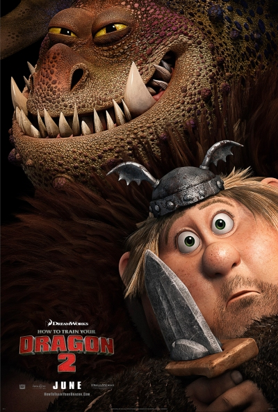 How To Train Your Dragon 2  Poster #3