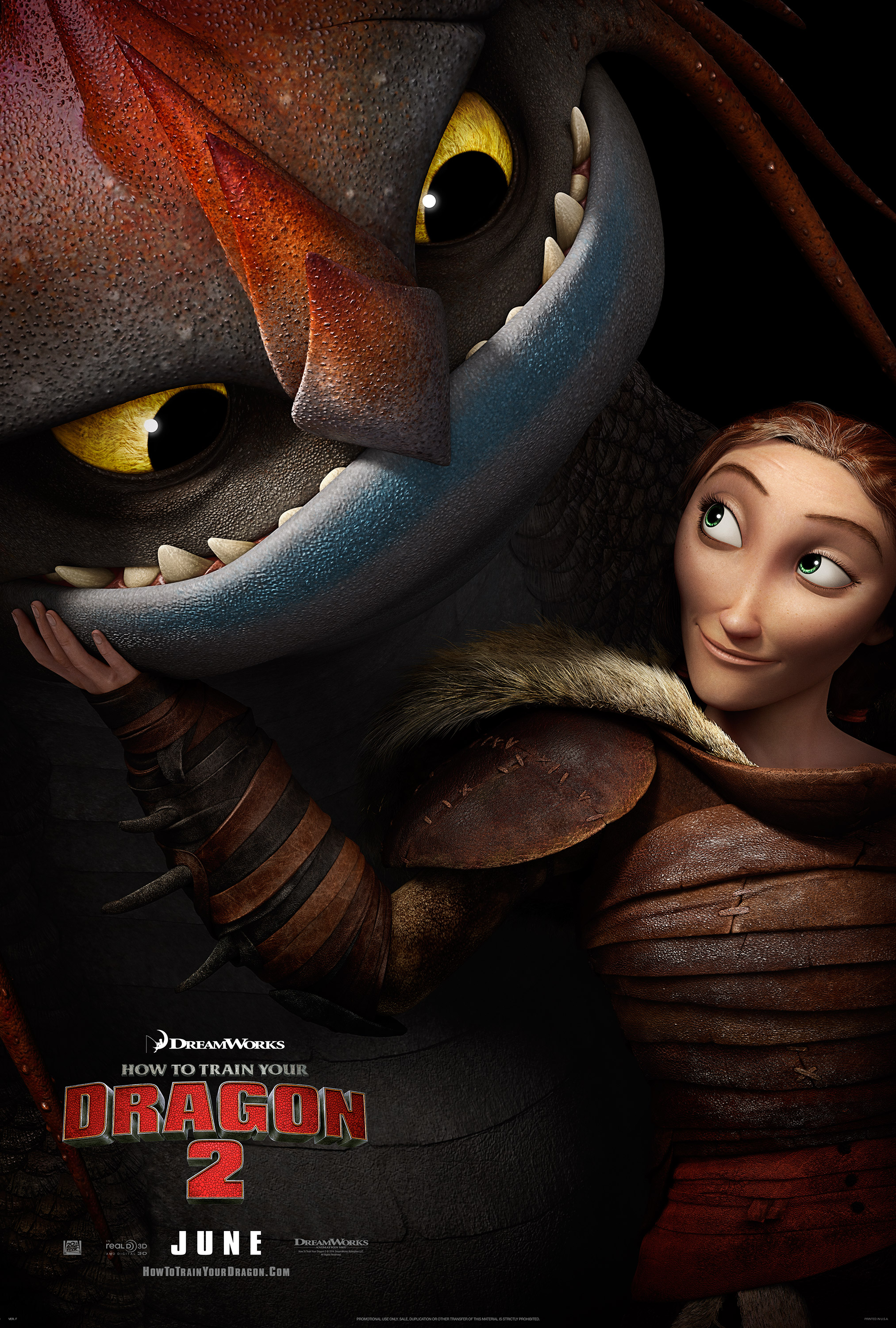 How To Train Your Dragon 2 Poster #7Reggie's Take.com