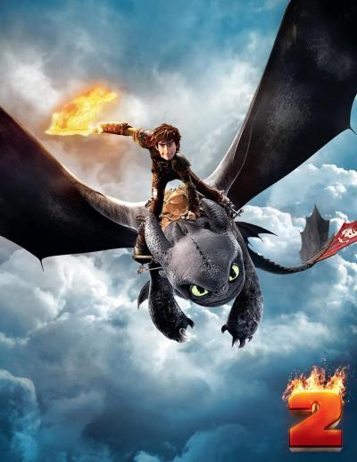 How to Train Your Dragon 2 Poster #8