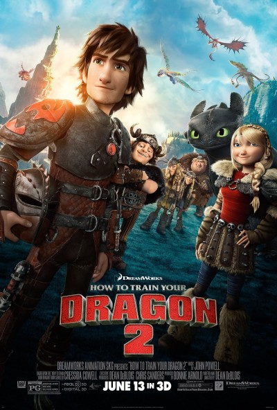 How to Train Your Dragon 2 Poster #9