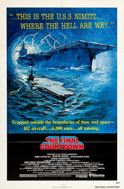 The Final Countdown Poster