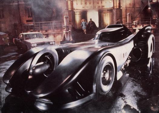 Batman Batmobile 1989 movie