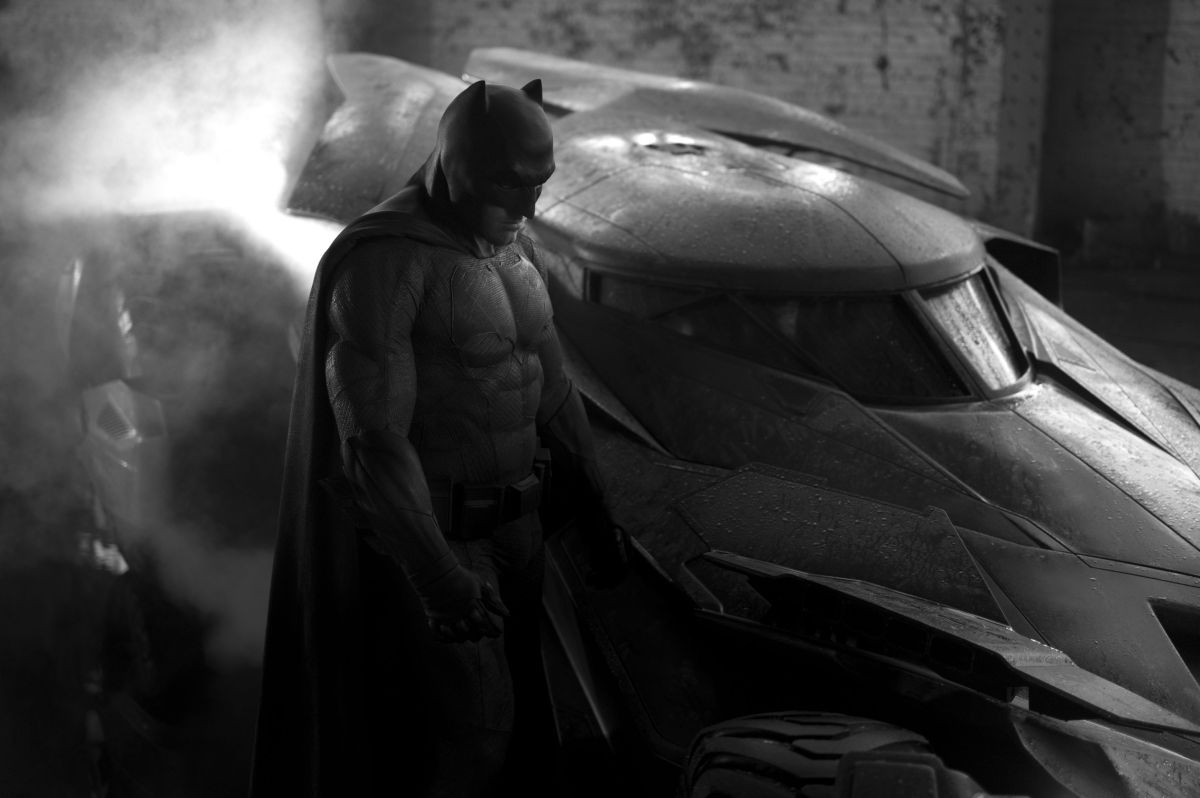 Batman v Superman Dawn of Justice - Batmobile