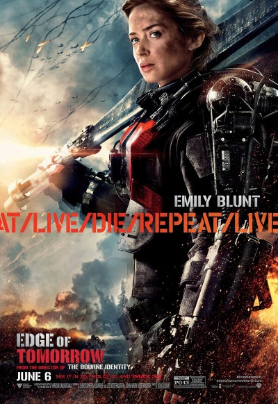 Edge of Tomorrow Poster #10