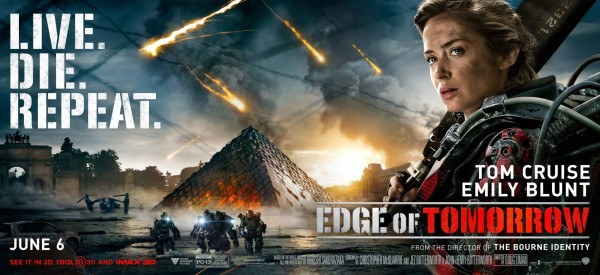 Edge of Tomorrow Poster #6