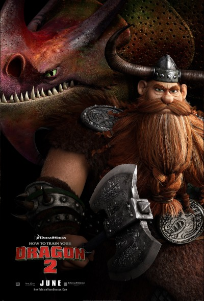 How To Train Your Dragon 2 Poster #10
